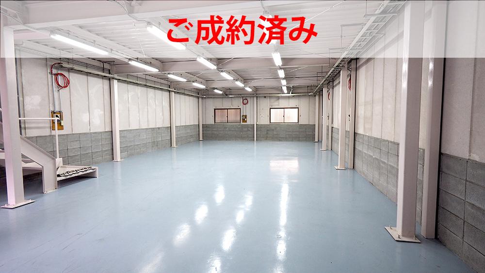 【倉庫・工場リノベーション 大阪】ベビーブルーに輝く、広々53坪の倉庫 | リプラス